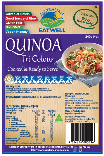 Quinoa Tri Colour